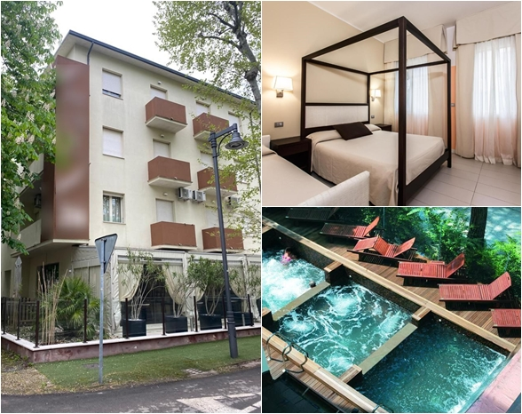 Real estate complex for hotel use